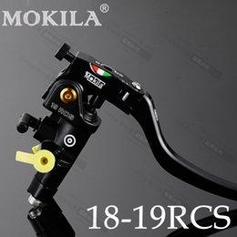 Wholesale Kawasaki Cnc Part - Motorcycle parts Brake Pump 19RCS Technology of CNC Multicolor Hydraulic Clutch Brake For Kawasaki Yamaha ducati monster fz6