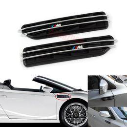 Wholesale 2X Black Side Fender Cover Vents Grille Grill For BMW M3 Series E36 E46 E90