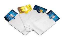 Wholesale RFID Blocking Sleeve Identity Theft Protection Sleeves Case Holder Anti Theft Travel Case Set Slim Design for Wallet Pocket