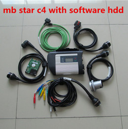 Wholesale V2016 Wifi MB Star C4 SD Connect compact with Newest software HDD gb and engineer mode for Benz Diagnostic tool