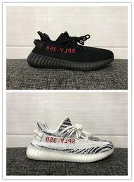 Wholesale Con la caja original Kanye West Boost V2 Zapatos para hombres SPLY Boost V2 Zapatos de los hombres Zapatos de los deportes Tamaño