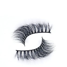 cils de scène Promotion Pur Costume de coton à la main Terrier 3D Mink Faux cils Crisscross naturel Messy Soft Fake Eyelashes Maquillage de scène Lashes