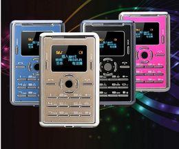 Livraison gratuite; Nouveau C5 mini carte droite de carte de téléphone mobile étudiants de mode mince poche couple petit téléphone mobile à partir de téléphone gratuit pour les étudiants fabricateur