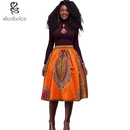 2017 summer dresses for women african clothing dashiki skirt Traditional wax cloth wax print batik pure cotton Plus Size S-4XL