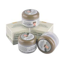 Wholesale Deep Cleansing Clay Mask Carbonated Bubble Anti Acne Moisturizing Face Mask Carbonate Mud Mask Whitening Hydrating Sleeping Mask