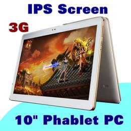 """10"""" 10 inch MTK6582 Quad Core 1.2Ghz Android 5.1 WCDMA 3G Phone Call tablet PC GPS bluetooth Dual Camera 1GB 16GB A-10PB"""