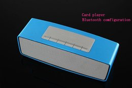 mini portable HiFi Wireless Bluetooth Speaker Support TF Card FM Radio For smart phones PC laptop speaker