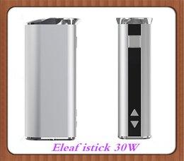 ¡Precio barato! Batería de la MOD 2200mah de la caja del istick 30W de Eleaf VS Isabel 10w 20w 40w 50w 60w 100w 200w pico 75w DHL libre desde mod baterías baratas fabricantes