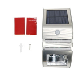 Argentina Luz solar inalámbrico brillante solar Powered 2LED Sensor de movimiento de la calle de la luz al aire libre para Jardín Jardín Inicio bright led solar garden lights for sale Suministro