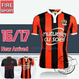 Wholesale 2016 Top Quality Balotelli OGC Nice French League soccer Jersey BELHANDA PLEA WALTER maillot de foot Payet Ocampos Lass football shirt