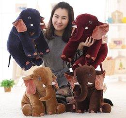 Compra Online Animales libres-El animal relleno libre del elefante los 40CM juega los regalos del bebé de la almohadilla de la felpa para la muñeca de los niños suaves del amortiguador del paño de la Navidad nuevo llegada