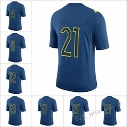 Wholesale 2017 Pro Bowl Game Dak Prescott Ezekiel Elliott Jones Fitzgerald Aaron Rodgers Odell Beckham Jr Collins Navy Blue Jersey