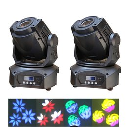 2XLOT 60W Led Moving Head DJ Spot light LED stage lighting 14 DMX channels free shipping for Stage DJ Party