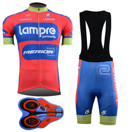 2017 New Lampre team pro Cycling jersey bib shorts set fluor summer Sportswear Mountain Bike clothing Ropa Ciclismo MTB Bicycle Wear DBA18