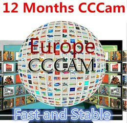 Wholesale cccam servers year Europe cline with servers HD account for Spain UK Germany French Italy Poland Satellite Receivver Dream Box SKY BOX