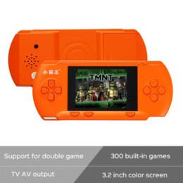 New Arrive 2016 RS-80 Kids Handheld Game Player 3.2 pouces couleur écran Portable Console de jeu vidéo Tetris oyun konsolu 300 Jeux à partir de jeux vidéo pour les enfants fabricateur