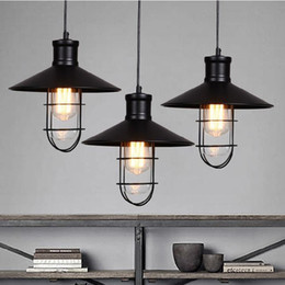 rustic pendant lights vintage style pendant lamps rounded metal lamp shade Kichler pendant lighting Linear Suspension Lighting black color