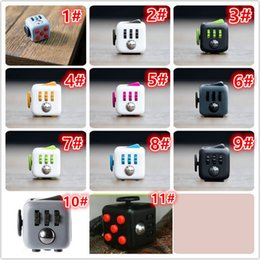 Wholesale Fidget Cube Toys for Girl Boys Christmas Gift The First Batch of The Sale Best Christmas Gift DHL free