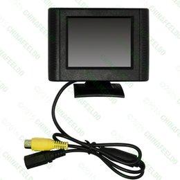 Voiture numérique 2.5inch détachable RCA vidéo affichage TFT LCD moniteur pour DVD caméra de recul du capteur de stationnement à partir de vidéo numérique rca fournisseurs