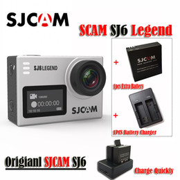 "Original SJCAM SJ6 LEGEND 4K 24fps Ultra HD Notavek 96660 Waterproof Sports Action Camera 2.0"" Touch Screen Mini Sports DV(Sliver)"