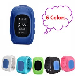 Canada Q50 GPS LBS SOS Enfants Enfants Anti-Lost Smart Watch Tracker Locator SmartBand Smartwatch pour téléphone Android Iphone Samsung Offre