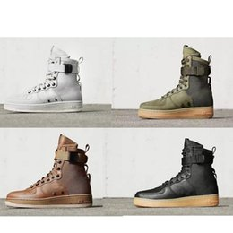 Wholesale Hot Sale Special Field Air Force One Urban Utility Boots Men Women High Boots Running Shoes Sneakers Fashion Unveils Armed Classic Shoes