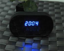 Ip ios came en Ligne-1920 * 1080P HD Wifi Spy caméra cachée sans fil P2P DVR horloge Nanny IP Cam pour Android IOS iPhone
