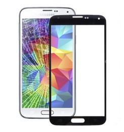 GalaxyS5 Front Glass Screen Lens For Samsung Galaxy S5 Screen Glass Panel S5 mini S4 mini with free tools