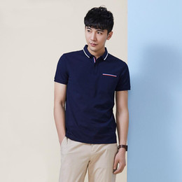 Wholesale - small crocodile jacare male shirt cotton men classic polo unlined upper garment of recreational network