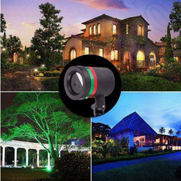 Wholesale Outdoor Lawn Light Sky Star Laser Spotlight Light Shower Landscape Park Garden Lights Christmas Garden Party Decorations CCA5256