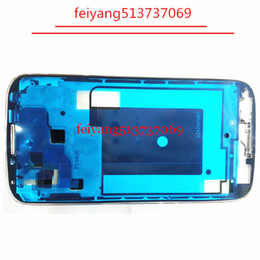 10pcs Original Middle Housing Chassis Bezel Plate Front Frame For Samsung Galaxy S4 I9500 I9505