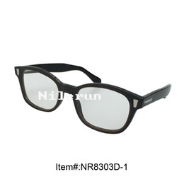 butterfly buffalo horn optical reading glasses with decorative metal pins