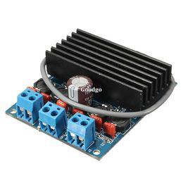 Wholesale Freeshipping TDA7492 x50W HIFI D Class Digital Amplifier Board AMP Board With Radiator Freeshipping