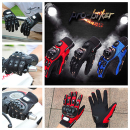 Wholesale Pro Biker Motorcycle gloves Luva Motoqueiro Guantes Moto Motocicleta Luvas de moto Cycling Motocross gloves C Gants Moto DHL free