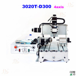 Wholesale CNC T D300 axis Router milling machine Easily produce name badges equipment tags small signs plaques and awards