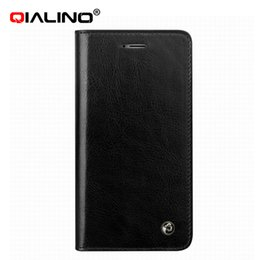 Wholesale Genuine Leather case for iphone flip Leather holster cover for iphone s plus inch best business handmade