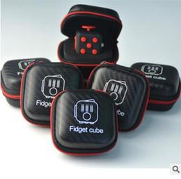 Boîte de rangement vide Boîtes de vente au détail pour Fidget Cube Toy Stress Relief Décompression Anxiété Toys Fidget Cube Case à partir de stockage pour les jouets fournisseurs