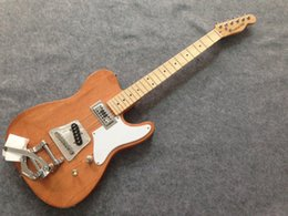 Wholesale cost customized TL electric guitar with Bigby bridge nature