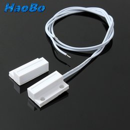Wholesale Pair MC MC38 Wired Door Window Sensor Magnetic Switch Home Alarm System Normally Closed NC