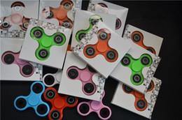 Hand Spinner espiral dedos Fidget Spinner ABS Shell de acero de rodamiento de bolas Hand Spinner Fidget juguete para matar el tiempo desde bolas de rodamiento proveedores