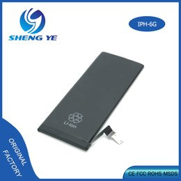 100% Original AAAAA Quality Liion Battery For IPhone 6 6plus With Package UPS Fedex Shipping