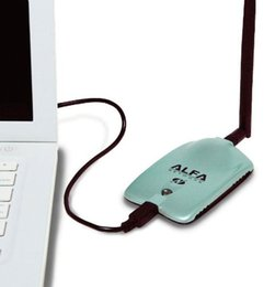 Wholesale Price Alfa Networks mW USB WiFi ADAPTER AWUSO36H v5 GENUINE Hologram AWUS036H WIFI RECIBE COMPARTE