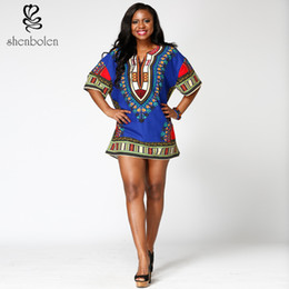 Unisex African Bright Dashiki Cotton Shirt Rasta Blouse Variety Colors for afeican clothing free package mail