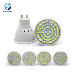 Cheap led Lamp GU10 E27 E14 MR16 led bulbs 48leds 60leds 80leds SMD 2835 chip led spotlight 3years warranty free shipping