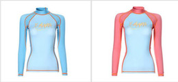 free shipping 2017 new surfing diving suits women beach casual sunscreen diving suit Lycra long sleeve jellyfish swimsuit