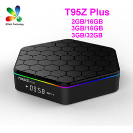 T95Z PLUS Android 7.1 TV BOX Amlogic S912 Octa Core 3G 32G 2.4G 5G WiFi Bluetooth