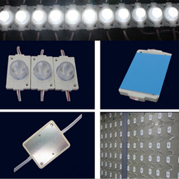 2016 Direct Sale SMD3030 2W LED Modules Light SMD 3030 With Lens DC12V LED chip light For LED sign Light Box free shipping