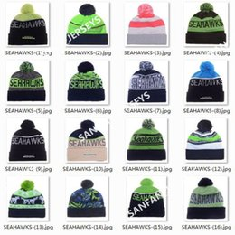 Wholesale 2017 Seahawks Beanies Winter High Quality Green Beanie For Men American Football Women Skull Caps On Field Skullies Knit Cotton Hats