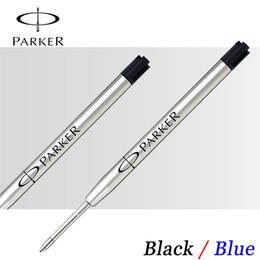6Pcs Lot Parker Vector Sonnet Urban Ball point Pen refill Office school supplies Parker Ballpoint pen refills Factory loutlets