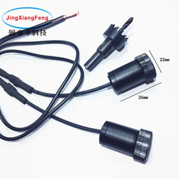 welcome light CREE LED car door courtesy Ghost Shadow Light lamp laser projector logo light for chairman